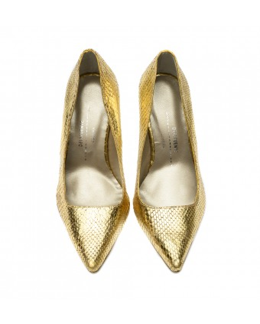 Stiletto pitón Oro