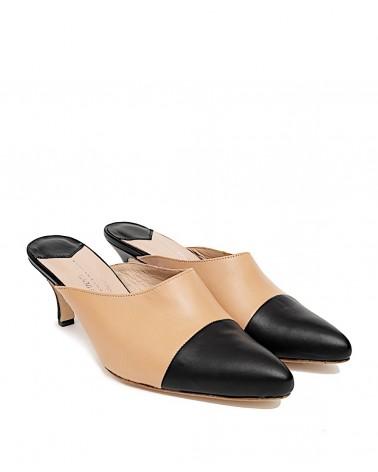 Teo-tones Leather mules