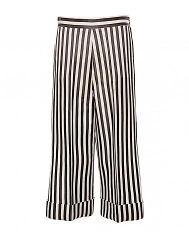 Pantalón cropped raya Kodak