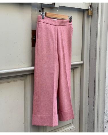 Pantalón algodón rústico