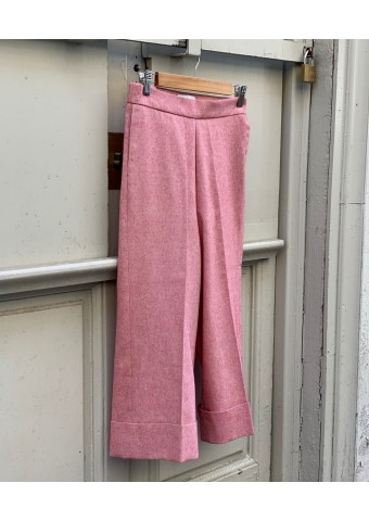 rustic cotton trousers